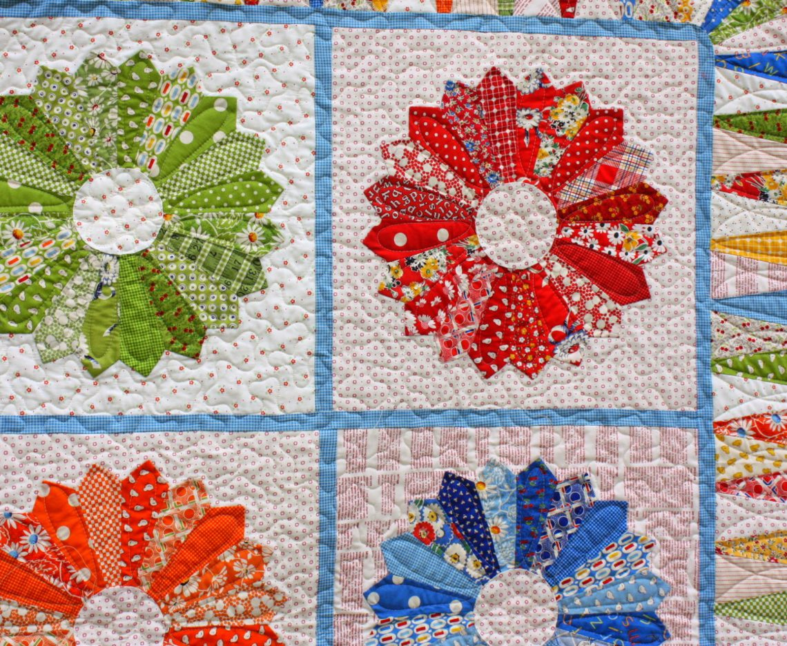 Double Wedding Ring Quilts For Sale 23 Perfect New Dresden Quilt Quilting