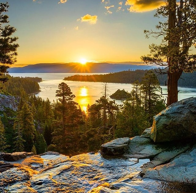 Emerald Bay sunrise James Udall