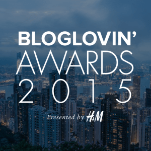 Bloglovin HM awards