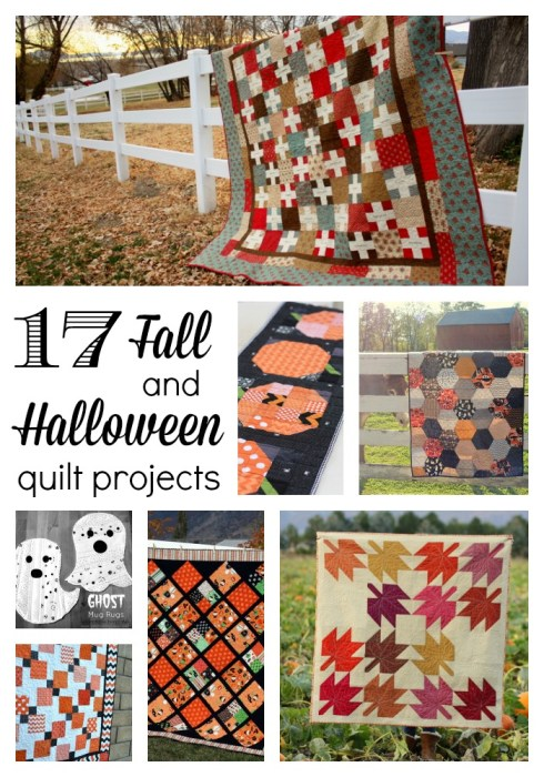 Fall and Halloween quilt projects
