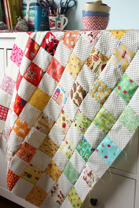 I-spy baby quilt