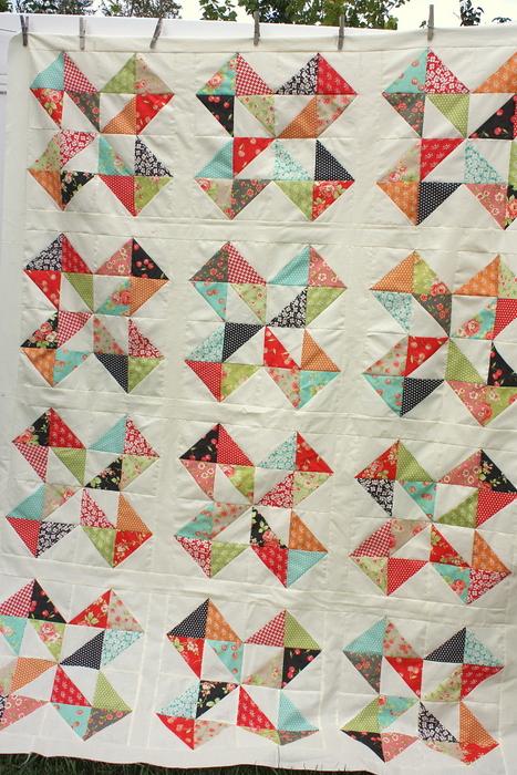 Star Cakes quilt blocks