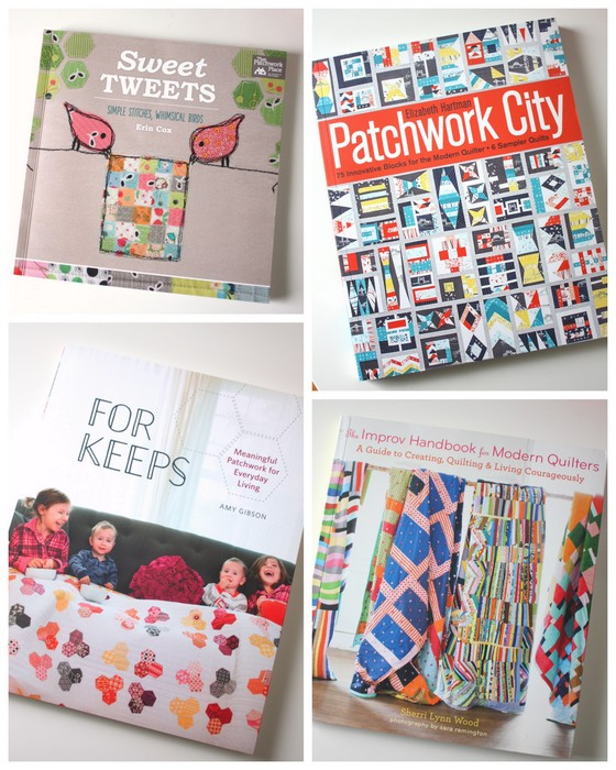 Quilt books of 2015