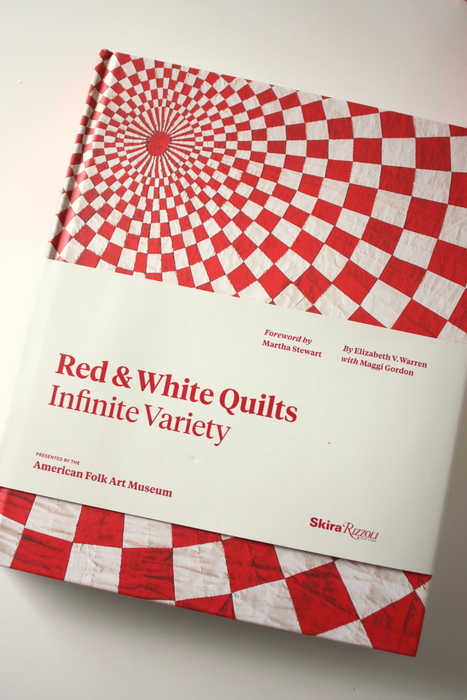 Red and White Quilt book