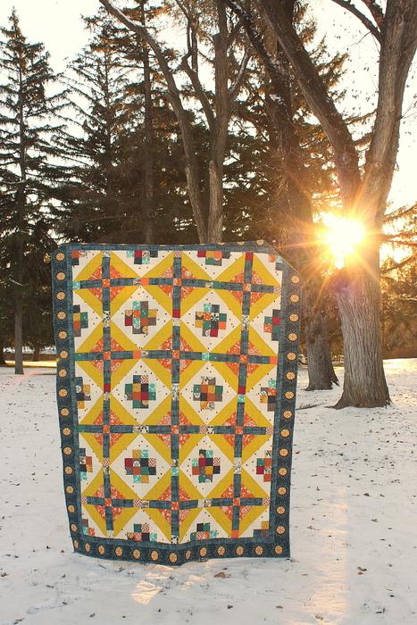 Watchtower quilt