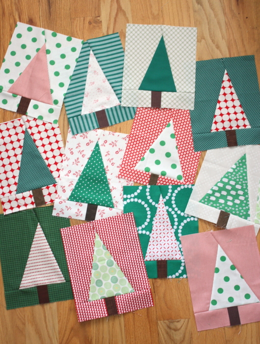 Christmas Tree Quilt Block Pattern Tutorial Diary Of A Quilter A Quilt Blog