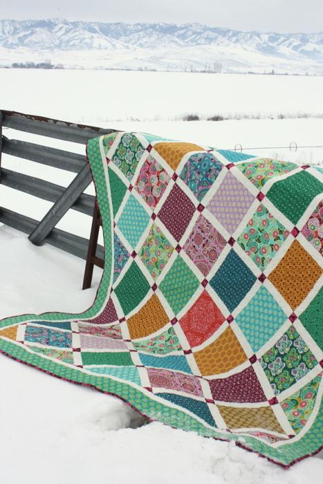 Dream Weaver Lattice Quilt by Amy Smart