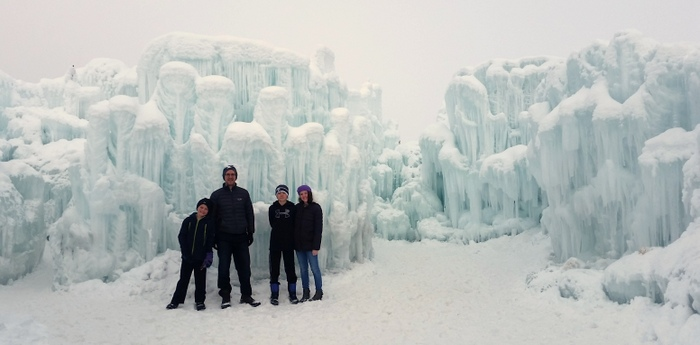 ice castles midway
