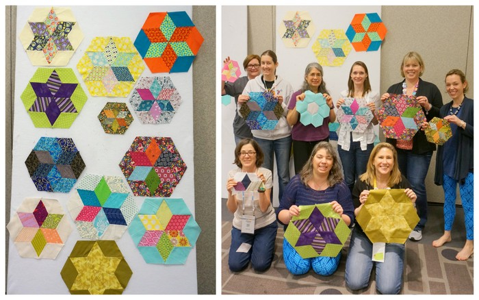 Advanced Piecing QuiltCon class