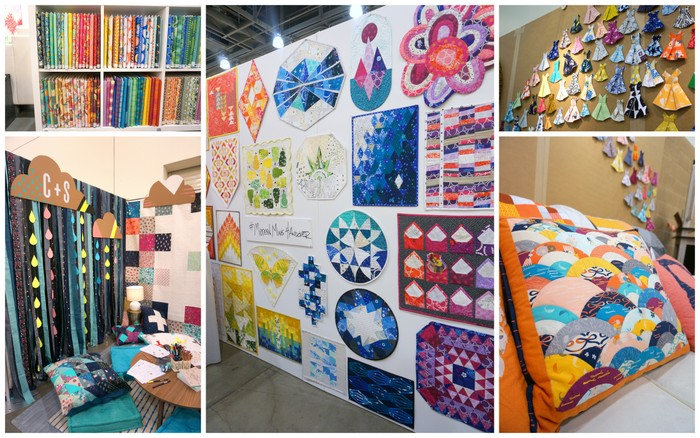 Fabric Companies at QuiltCon 2016