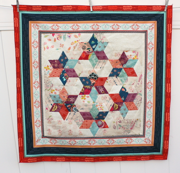 Fleet and Flourish mini quilt-001