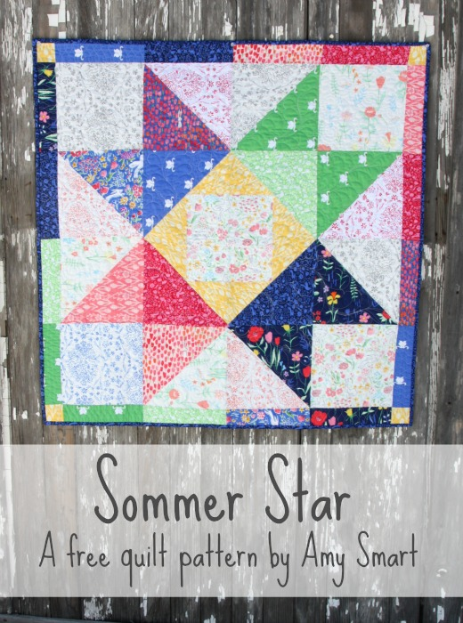 Sarah Jane's Sommer Fabric and Quilt Patterns | Diary of a Quilter