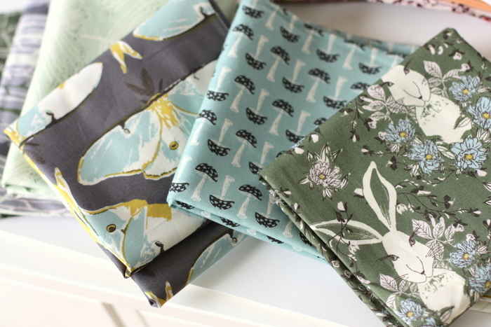 Forrest Floor Art Gallery Fabrics