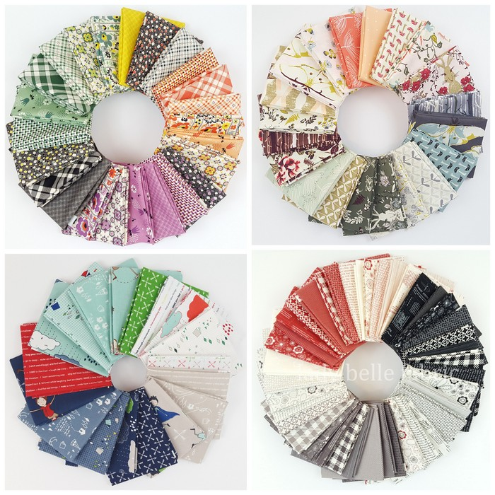 Lady Belle Fabric bundles