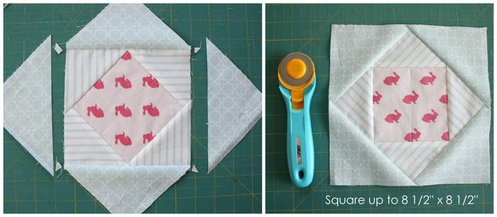 Quilt block tutorial 5