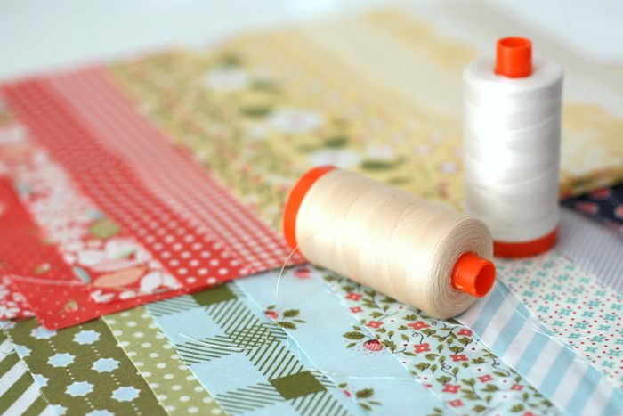 Aurifil Thread Splendid Sampler