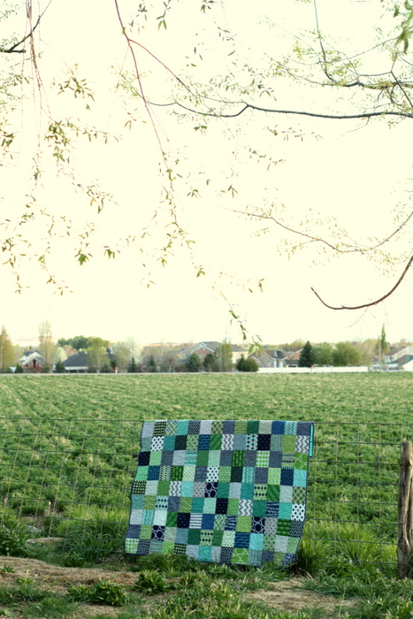 Patchwork Quilt by Amy Smart