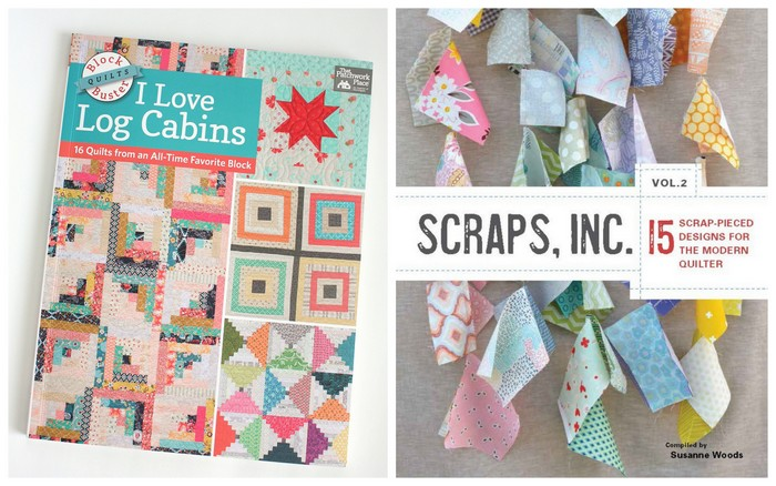Log Cabin Scrap quilt books