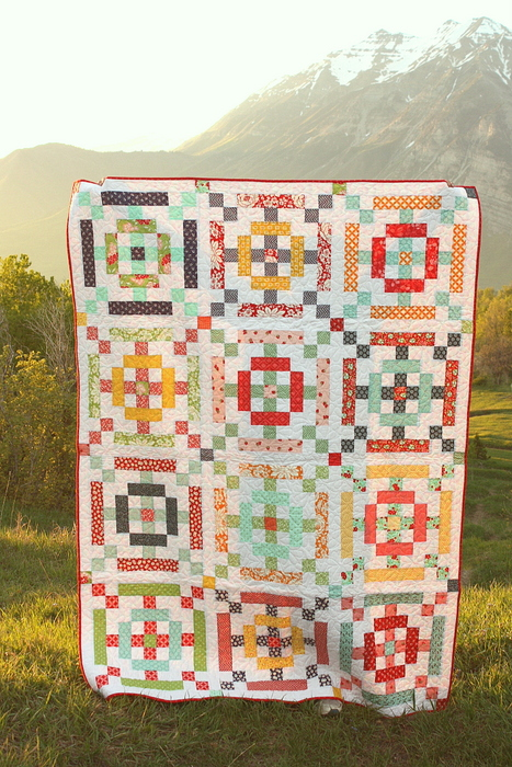 Amy Smart Scrap Basket Quilt