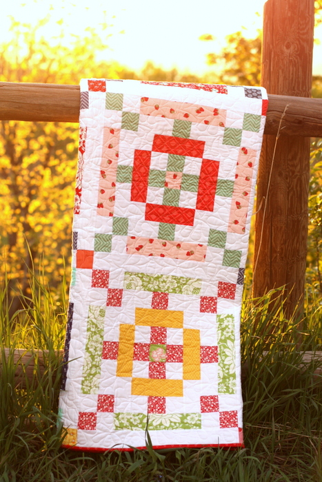 Scrap Basket Quilt - Moda scraps book
