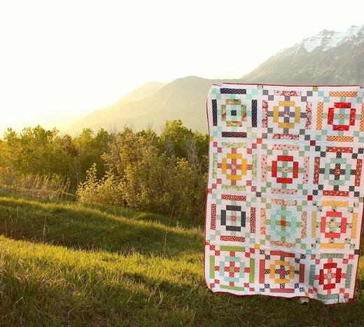 Scrap Quilt  by Amy Smart