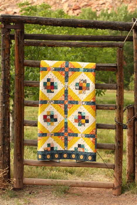 Amy Smart Quilt pattern Watchtower