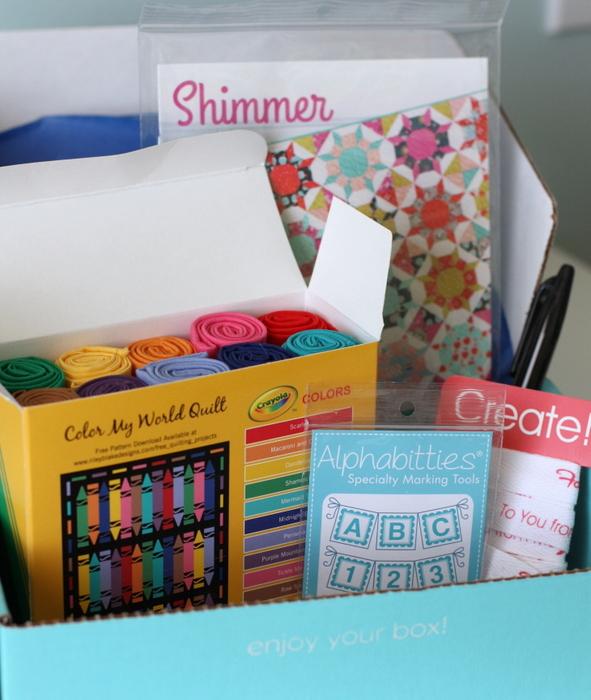 Sew Sampler Box Fat Quarter Shop