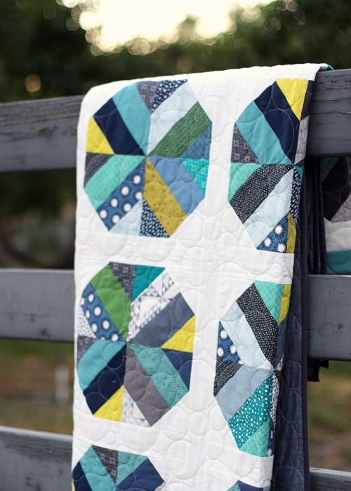 Bushel and a Peck Jelly Roll quilt pattern by Amy Smart