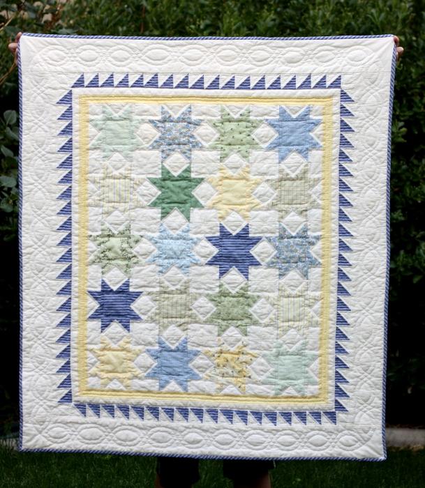 Sawtooth Star quilt