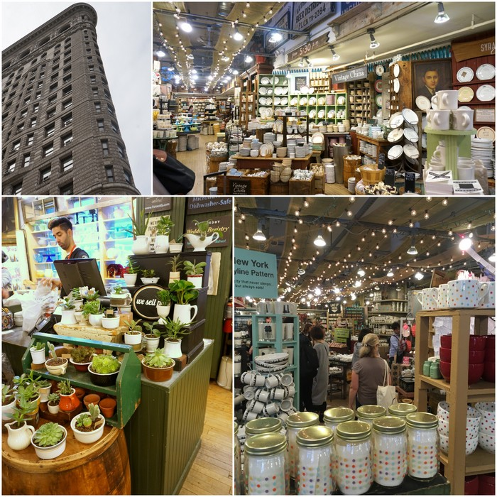 A visit to new york for Fishs eddy nyc