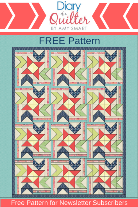 Free Pattern download from Diary of a Quilter