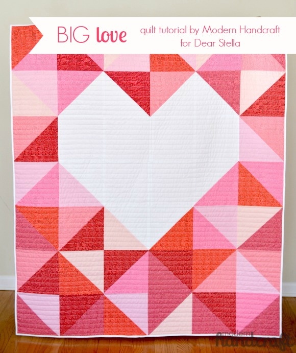 Big Heart Quilt Tutorial