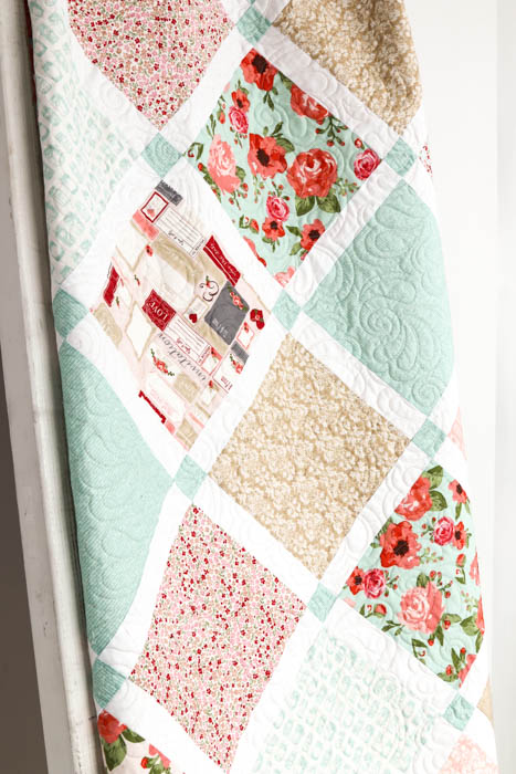 Lattice Quilt pattern by Amy Smart