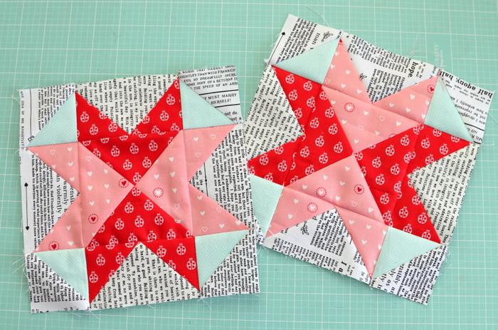 Love all around quilt blocks