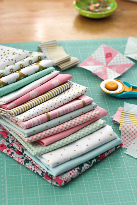 Riley Blake fabric - patchwork quilt