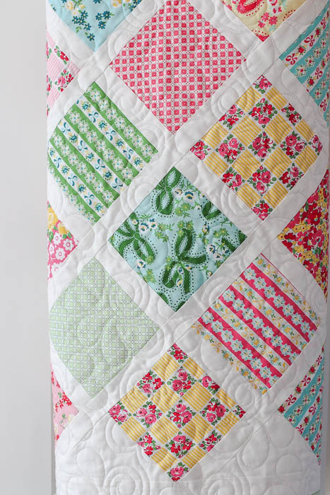 Baby Lattice Quilt Tutorial 2 Diary Of A Quilter A