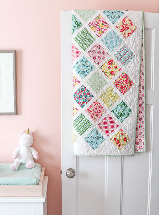 photo about Baby Quilt Patterns Free Printable named Lattice Youngster Quilt Guidebook Quilting Tutorials Diary of