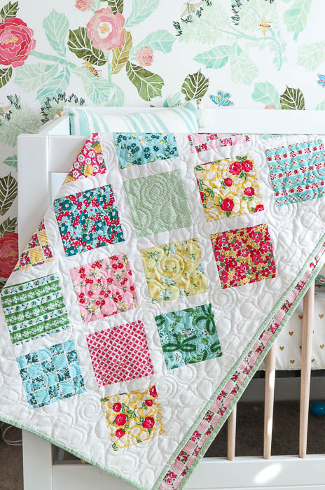 photograph about Baby Quilt Patterns Free Printable titled Lattice Kid Quilt Guide Quilting Tutorials Diary of