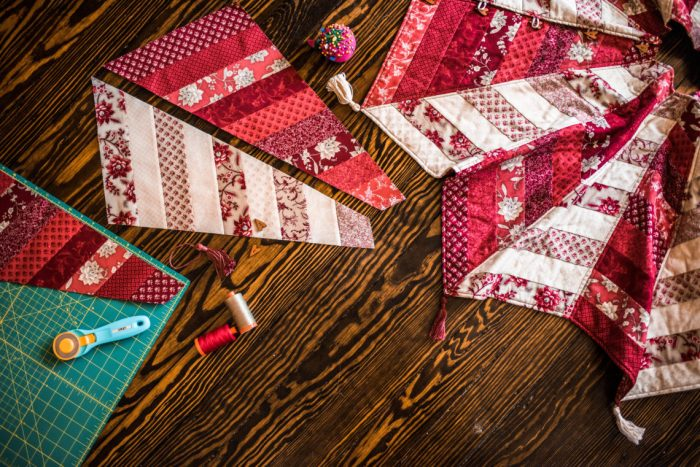 Quilted Tree Skirt Pattern + Class : quilted tree skirt patterns - Adamdwight.com