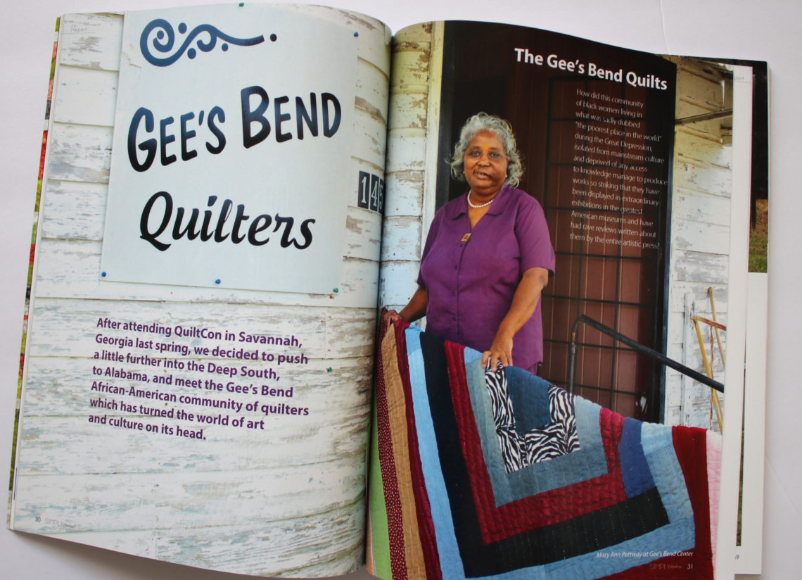 Gees Bend Quilts 1 Diary Of A Quilter A Quilt Blog