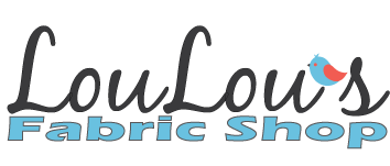 End of Year Clearance Quilting Sales For 2019 by popular Utah quilting blog, Diary of a Quilter: image of LouLou's Fabric Shop logo.