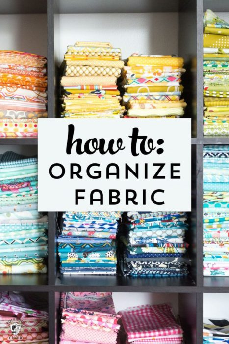 Tips How to Organize Fabric