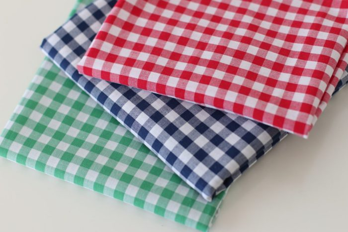 Woven Gingham fabric from Riley Blake Designs