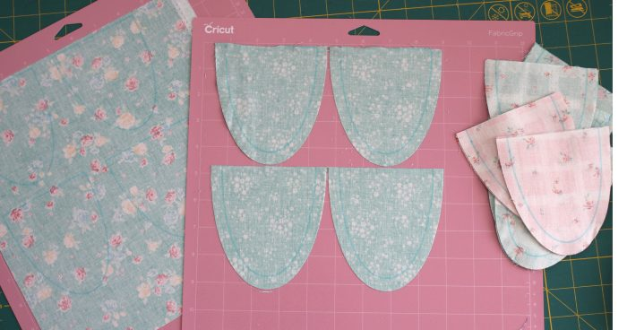 Cricut Cuts cotton fabric