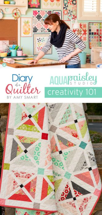 Creativity 101 - finding your creative spark - Quilting