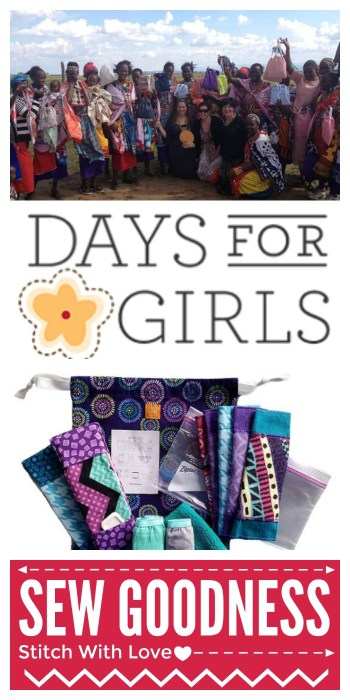 Charity Sewing - Days For Girls