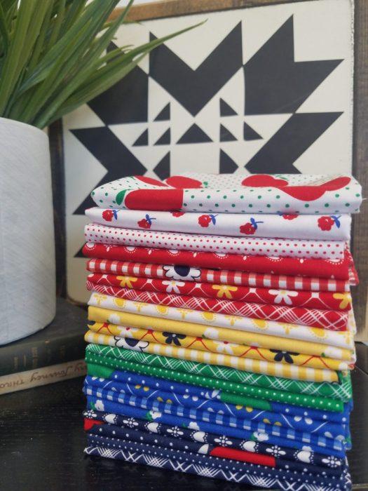 Sunnyside Ave fabric Fat Quarter Bundle