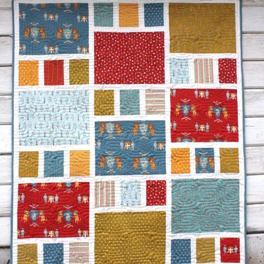 Craftsman Quilt Pattern Crib size