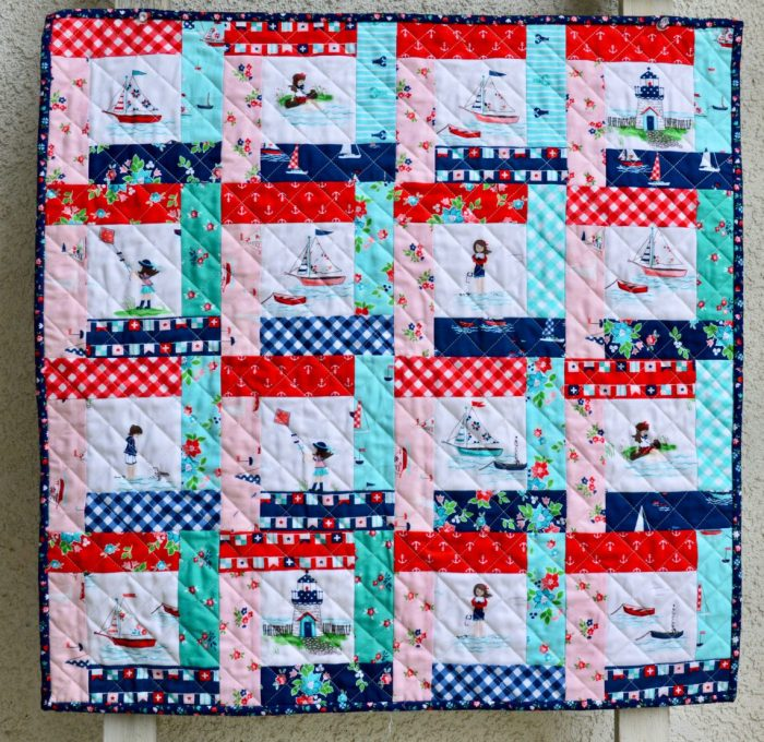 Fussy Cut Partial Seams Quilt Tutorial Custom Mini Quilt Patterns
