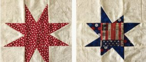 8 point Quilt blocks free pattern for Quilts of Valor